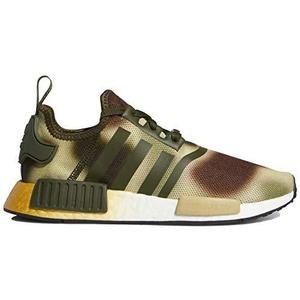 adidas NMD_r1 W - Star Wars Womens Fw2280, Night Cargo/Brown/Gold Metallic | My Hero Booth