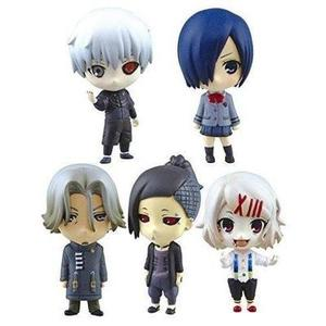 Aoshima Tokyo Ghoul SD Figure Swing Collection Set of 5 by Aoshima : My Hero Booth