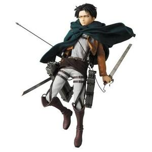 Attack on Titan: Levi Real Action Hero Figure -Action Figure-My Hero Booth