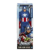 "Avengers Titan Hero Captain America 12"" Action Figure -Action Figure 