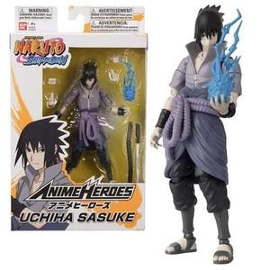 Bandai 36902 Anime Heroes-Naruto 15cm Uchiha Sasuke-Action Figures | My Hero Booth