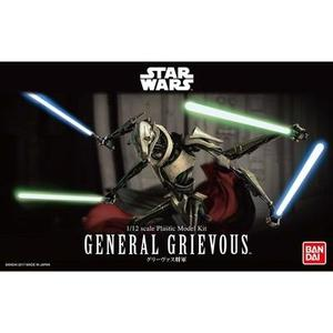 "Bandai Hobby Star Wars 1/12 Plastic Model General Grievous ""Star Wars"" -Action Figure 