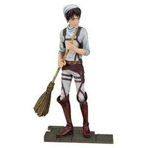 Banpresto Attack on Titan 6.5-Inch Eren Yeager DXF Figure, Cleaning Version | My Hero Booth