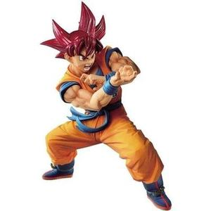 Banpresto Dragon Ball Super Blood of Saiyans Special VI S.God Goku Figure -Action Figure | My Hero Booth