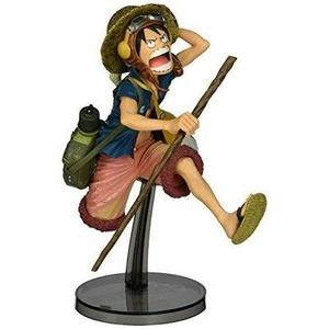 Banpresto One Piece 6.3-Inch Luffy Figure, SCulture Big Zoukeio 4 Volume 1 -Action Figure-My Hero Booth