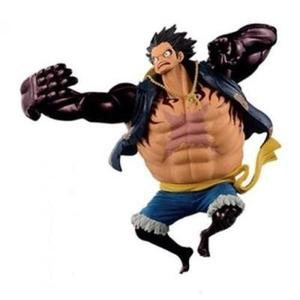 Banpresto One Piece 6.3-Inch Monkey D Luffy Figure, SCultures Big Zoukeio Special, Gear Fourth -Action Figure-My Hero Booth