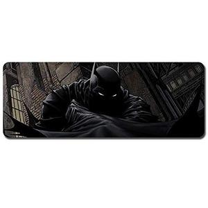 Batman Mouse Pad,Professional Large Gaming Mouse Pad, Classic Pattern Mouse mat,Extended Size Desk Mat Non-Slip Rubber Mouse Mat,Movie (800 × 300× 2 mm / 31.5 × 11.8 × 0.1 inch, 55) | My Hero Booth