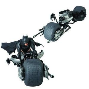 Batman The Dark Knight Rises Movie Batpod Miracle Action Figure EX Series Vehicle - Previews Exclusive-My Hero Booth