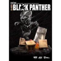 Beast Kingdom Captain America Civil War: Ea-028 Black Panther Action Figure | My Hero Booth