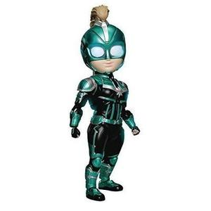 Beast Kingdom Captain Marvel: Carol Danvers (Star Force Version) EAA-075SP Egg Attack Action Figure | My Hero Booth