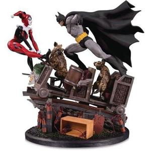 DC Collectibles Batman vs. Harley Quinn (Second Edition) Battle Statue | My Hero Booth