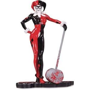 DC Collectibles Harley Quinn Red, White & Black: Harley Quinn by Adam Hughes Statue | My Hero Booth