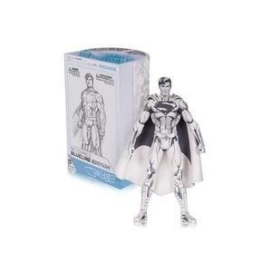 DC Collectibles Sliver Superman Action Figure -Action Figure | My Hero Booth