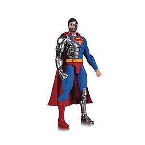 DC Essentials: Cyborg Superman Action Figure | My Hero Booth