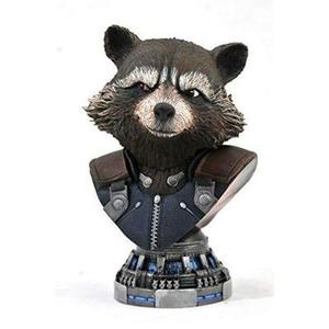 DIAMOND SELECT TOYS Legends in 3-Dimensions: Avengers Endgame: Rocket 1: 2 Scale Bust,Multicolor,8 inches : My Hero Booth