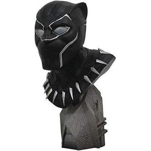 DIAMOND SELECT TOYS Legends in 3-Dimensions: Black Panther Movie 1: 2 Scale Resin Bust, Multicolor : My Hero Booth