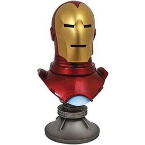 DIAMOND SELECT TOYS Legends in 3-Dimensions: Marvel Iron Man Half-Scale Resin Bust : My Hero Booth