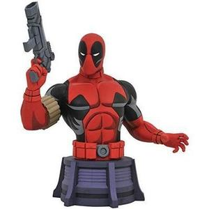 DIAMOND SELECT TOYS Marvel Animated X-Men: Deadpool Bust, Multicolor, 6 inches : My Hero Booth