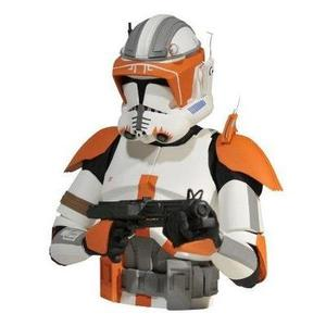 Diamond Select Toys Star Wars: The Clone Wars: Commander Cody Bust Bank : My Hero Booth