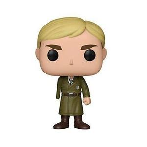 Funko Pop! Animation: Attack on Titan - Erwin (One-Armed) Toy, Multicolor -Action Figure-My Hero Booth