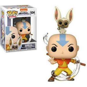 Funko POP! Animation: Avatar - Aang with Momo | My Hero Booth