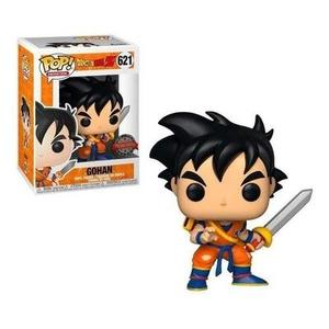Funko pop! Animation Dragon Ball Z Young Gohan with Sword Insider Club Exclusive -Action Figure-My Hero Booth