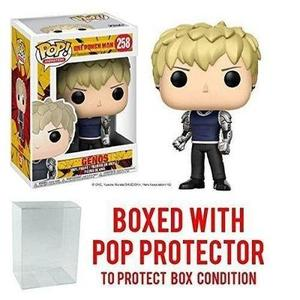 Funko pop!! Anime: One Punch Man - Genos Vinyl Figure -Action Figure | My Hero Booth