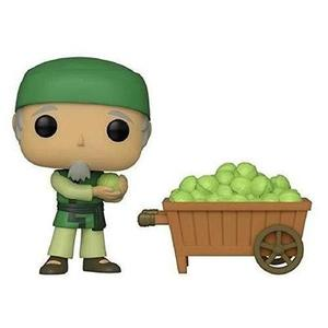 Funko Pop! Avatar The Last Airbender Cabbage Man on Cart Shared Sticker NYCC 2019 Exclusive | My Hero Booth