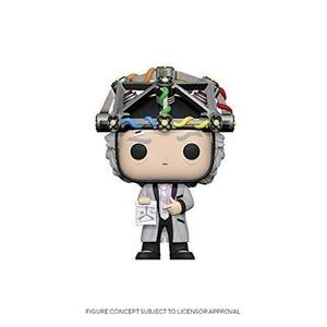 Funko Pop! Back to The Future - Doc with Helmet-My Hero Booth