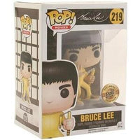 Funko Pop Movies Bruce Lee Game of Death Exclusive Vinyl Figure | My Hero Booth