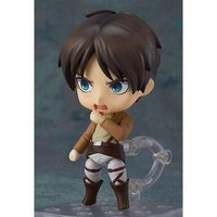 Good Smile Attack on Titan: Eren Yeager Nendoroid Action Figure -Action Figure | My Hero Booth