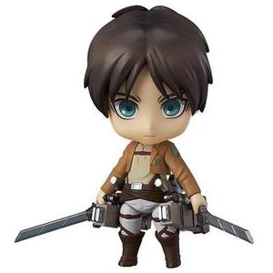 Good Smile Attack on Titan: Eren Yeager Nendoroid Action Figure -Action Figure-My Hero Booth