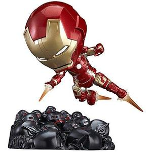 Good Smile Avengers: Age of Ultron: Iron Man Mark 43: Hero's Edition Nendoroid Action Figure Ultron Sentries Set-My Hero Booth