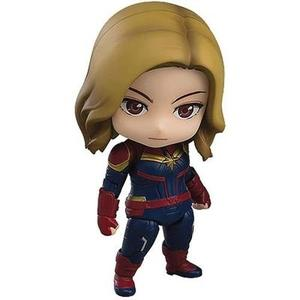 Good Smile Marvel's Captain Marvel (Hero's Edition Deluxe Version) Nendoroid Action Figure-My Hero Booth