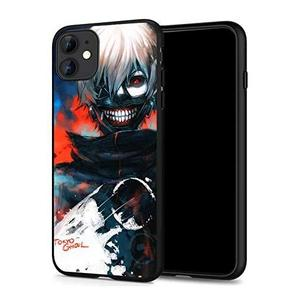 iPhone 11 Case Anime Comic Series Protection Cover Back Case for iPhone 11 (Tokyo-Ghoul-Kaneki 1) : My Hero Booth