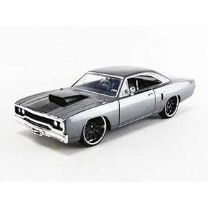 Jada 1970 Plymouth Road Runner Grey Doms Fast & Furious 1/24 Scale Diecast 30745-My Hero Booth