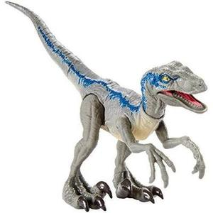 Jurassic World Savage Strike Velociraptor Blue-My Hero Booth