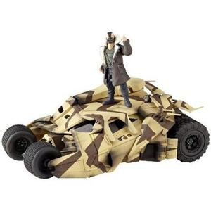Kaiyodo Sci-Fi Revoltech #047: Batmobile Camouflage Tumbler Vehicle-My Hero Booth
