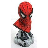 Legends in 3-Dimensions: Marvel Spider-Man 1: 2 Scale Bust, 10 inches -Action Figure | My Hero Booth