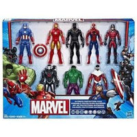 Marvel Avengers Action Figures  (8 Action Figures) -Action Figure : My Hero Booth