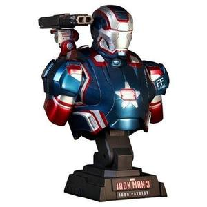 Marvel Hot Toys Iron Man 3 IRON PATRIOT 1/4 Scale Bust Figure The Avengers : My Hero Booth