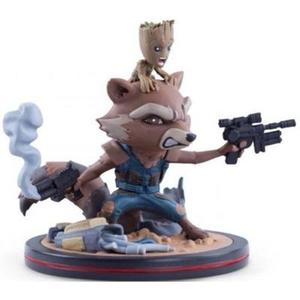 Marvel's Guardians of the Galaxy Vol.2 Rocket & Groot Q-Fig by Quantum Mechanix Qmx | My Hero Booth