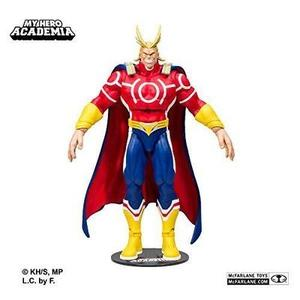 McFarlane Toys 10815 My Hero Academia All Might Red Version 18cm Action Figure, Various -Action Figure : My Hero Booth