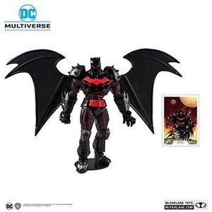 McFarlane Toys DC Multiverse Batman: Hellbat Suit Action Figure, Multicolored-My Hero Booth