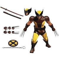 Mezco Toys One: 12 Collective: Marvel Wolverine Action Figure -Action Figure | My Hero Booth
