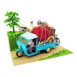 Moving MK07-14 (Paper Craft) My Neighbor Totoro Kusakabe house is 1/48 Studio Ghibli series (japan import)-My Hero Booth