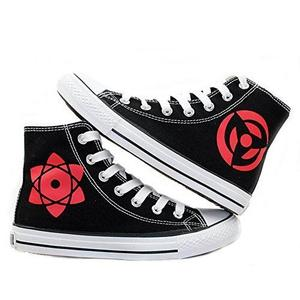 Naruto Anime Hatake Kakashi Sharingan Cosplay Shoes Canvas Shoes Sneakers | My Hero Booth