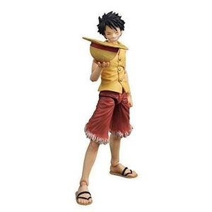 Onepiece: Luffy Past Blue (Yellow Version) Variable Action Hero PVC Vinyl Figure -Action Figure-My Hero Booth