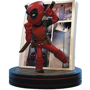 Quantum Mechanix Marvel Deadpool 4D Q-Fig Diorama Figure -Action Figure | My Hero Booth