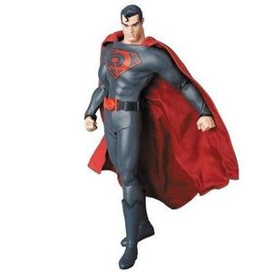Red Son Superman Real Hero Action Figure-My Hero Booth